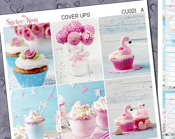 Sweets Planner Cover Ups Stickers Kit CU021