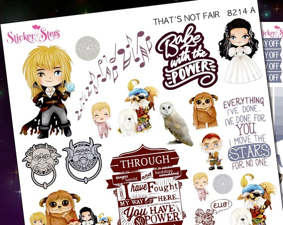 That's Not Fair Planner Stickers Stickers Mini Kit | 8214