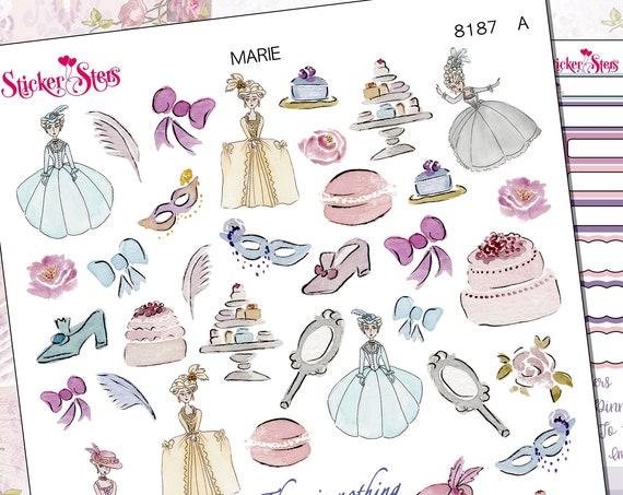 Marie Planner Stickers Stickers Mini Kit | 8187
