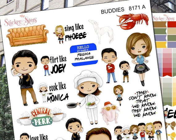 Buddies Planner Stickers Stickers Mini Kit | 8178