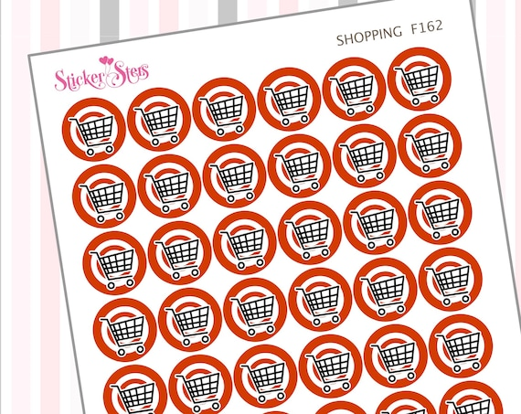 Shopping | F162 Planner Stickers