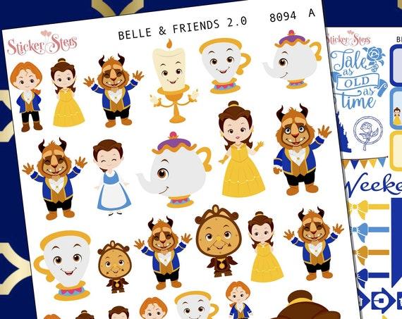 Belle & Friends 2.0 Planner Stickers Stickers Mini Kit | 8094