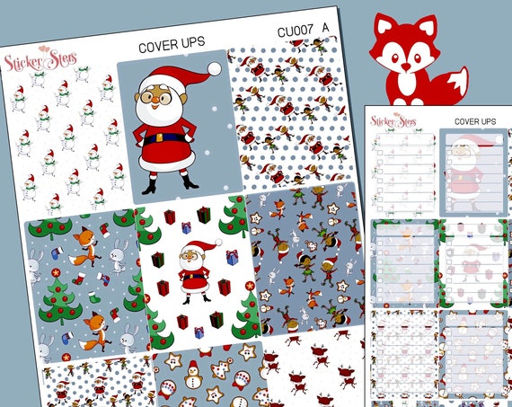 Planner Cover Ups Stickers Kit CU007