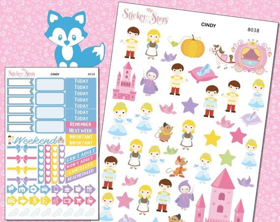 Cindy Planner Stickers Mini Kit | 8037