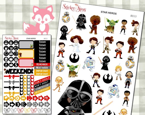 Star Heros Stickers Mini Kit | 8013