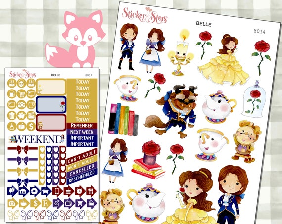 Belle Stickers Mini Kit | 8014