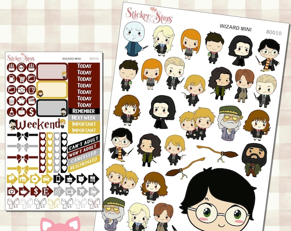 Wizards & Witches Planner Stickers Mini Kit | 8010