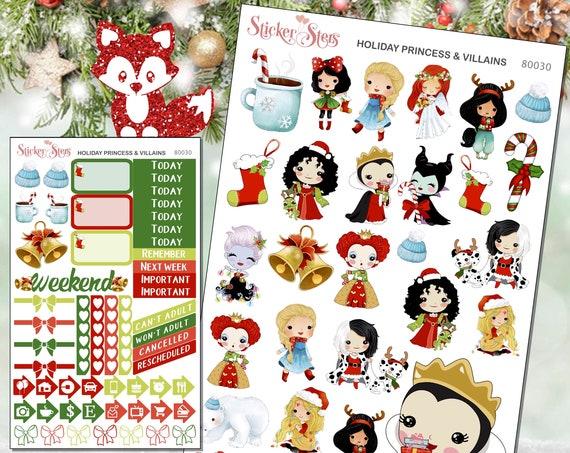 Holiday Princesses & Villains Mini Kit | 8030