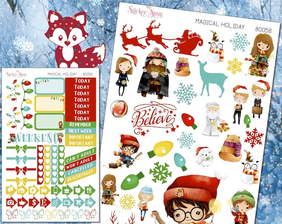 Magical Holidays Planner Stickers Mini Kit | 8058