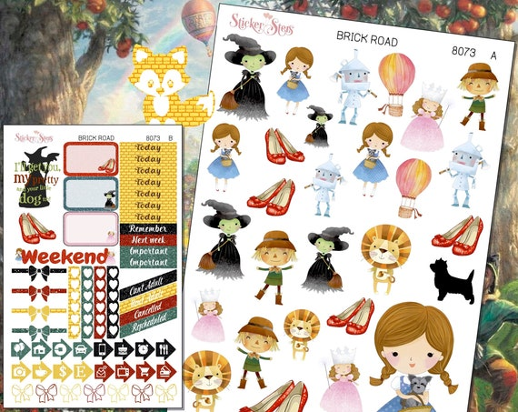 Brick Road Planner Stickers Mini Kit | 8073