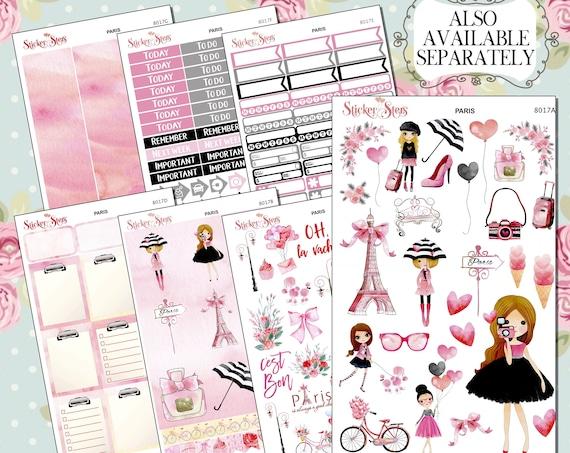 Paris Planner Sticker | 8017