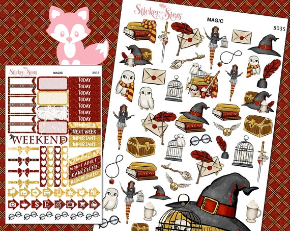 Magic Planner Stickers Mini Kit | 8035