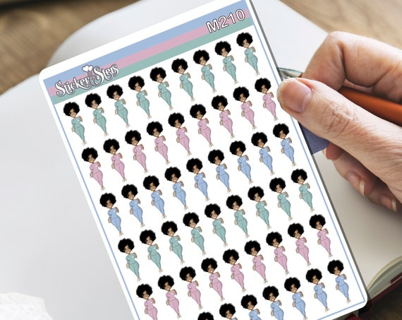 Nurse Tiny Sticker Set | M210