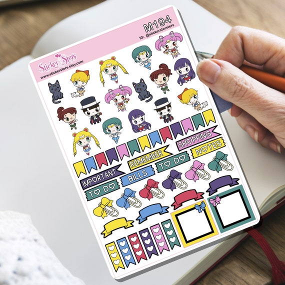 Sailor Kids Tiny Sticker Set | M194