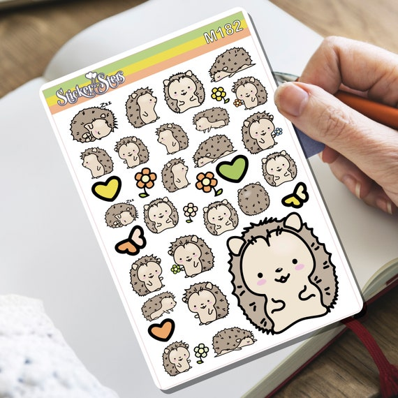 Prickly Prickles! Tiny Sticker Set | M182