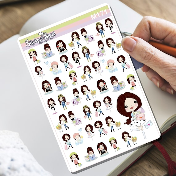 Boss Girl! Tiny Sticker Set | M171