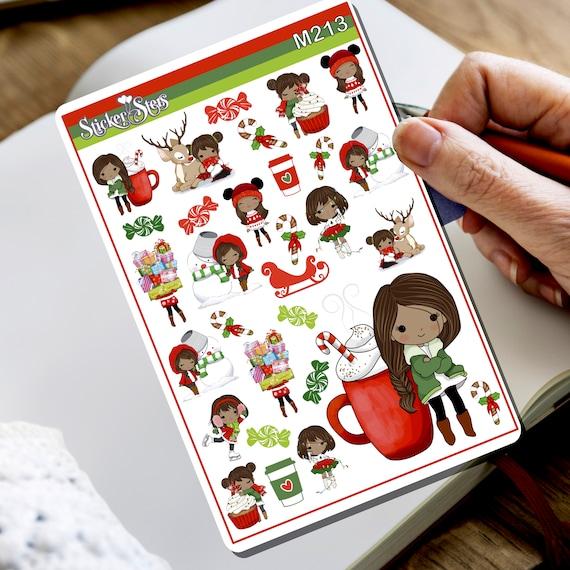 Hello Winter... Again! Tiny Sticker Set   M213