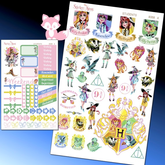 Students Planner Stickers Kit | 8068