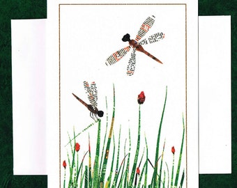 Dragonflies - Greeting Card