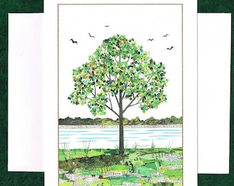 A Tree - Greeting Card