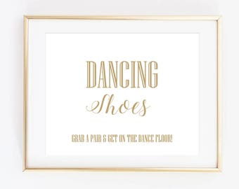b77ee060c0c520 Dancing Shoes Sign Printable Wedding Signs Flip Flops Sign