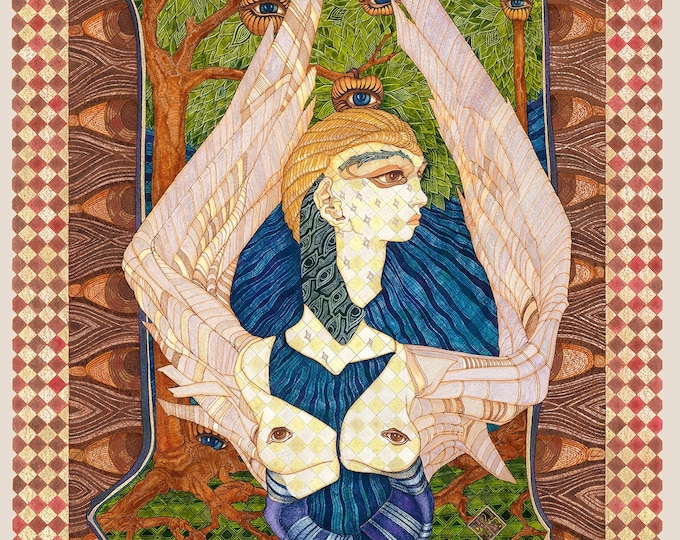 Fine Art Giclée Prints, Aniol (Angel) II.  (limited editions of 76, different sizes)