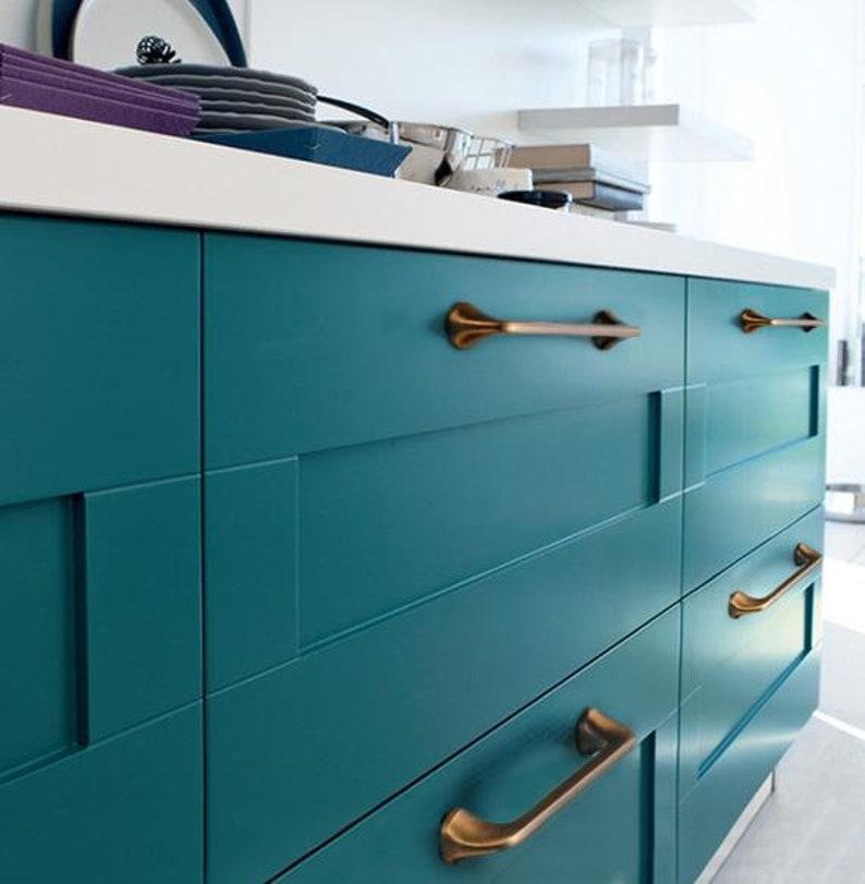 Cabinet Handle Door Knob Dresser Knobs Drawer Pull Handles Antique Silver Shell Kitchen Cupboard Pull