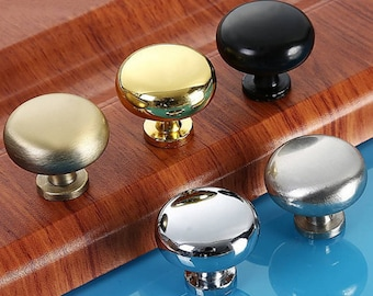 Dresser Knobs Drawer Knobs Pulls Handles Bronze Gold Silver Black Nickel / Kitchen Cabinet Door Knobs Pulls Handles Bathroom Furniture Solid