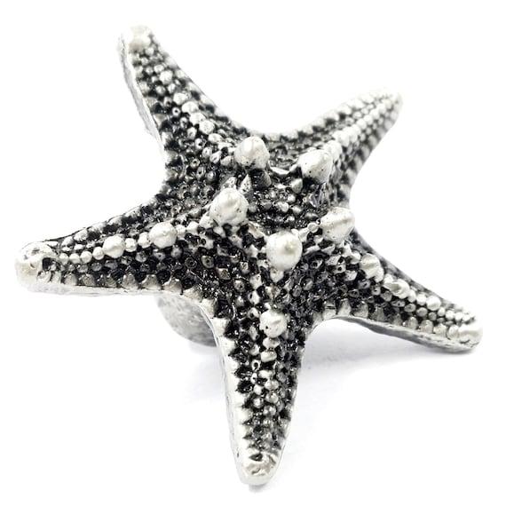 Attractive Starfish Dresser Knobs Pulls Handles Rustic Kitchen Cabinet | Etsy