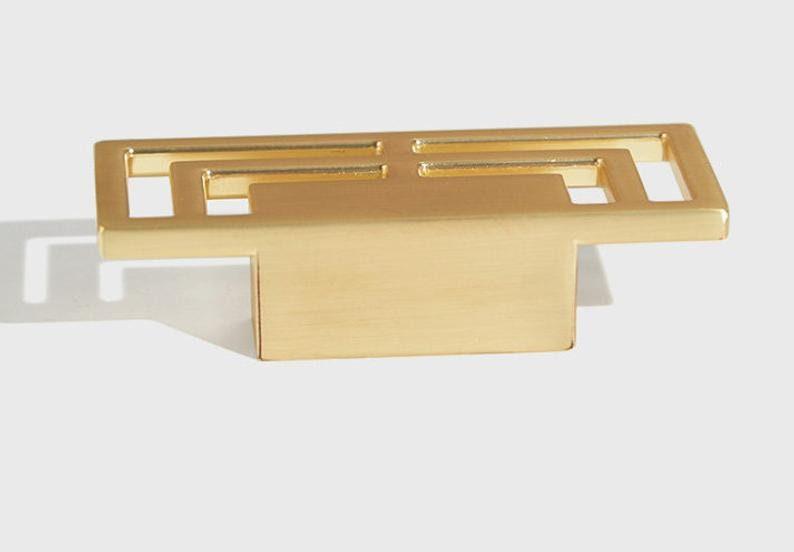 1.25/'/' Chinese Cabinet Door Handles Brushed Brass Dresser Drawer Pulls Knobs Rustic Kitchen Cabinet Handles Pulls Door Handle Hardware 32 mm