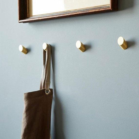 Messing Haak Decoratieve Muur Haken Jas Haak Hangers Tas Haken Etsy