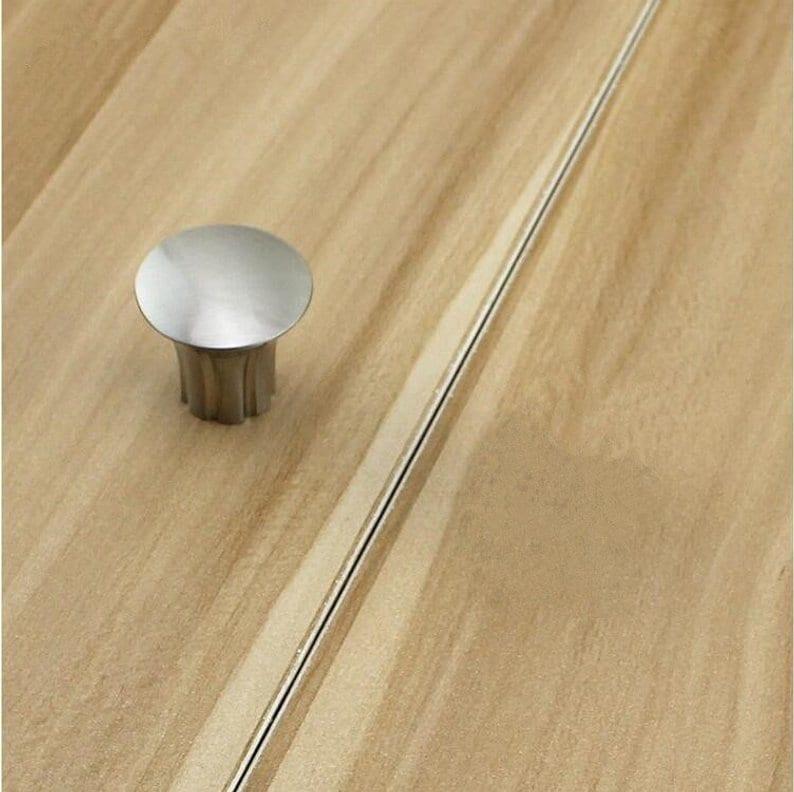 3.78 5 6.3/'/' 7.55 Simple Drawer Pulls Dresser Knobs Brushed Nickel Kitchen Cabinet Door Handles Modern Furniture Handle 96 128 160 192 mm