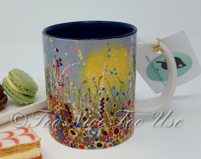 Ceramic 11oz Durham Style Art Print Mug with 'Spring In Bloom' Print