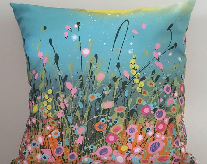 Cushion with Art Design