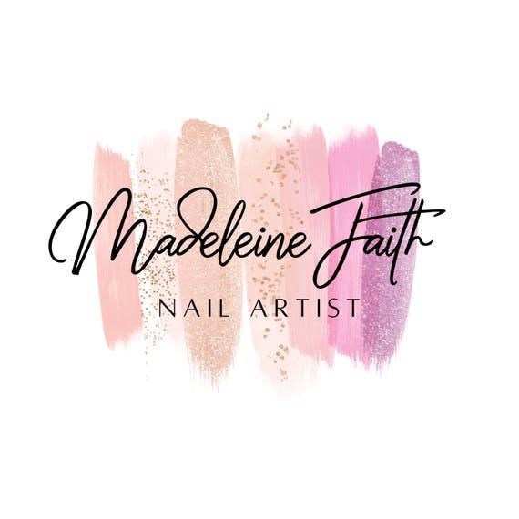 nail artist logo logo design nail salon logo gel nail logo etsy rh etsy com nail salon logo ideas nail salon logo samples