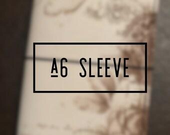 A6 Sleeve Style Keelindori Cover