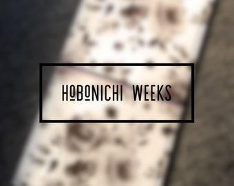 Hobonichi Weeks Sleeve Style Keelindori Cover