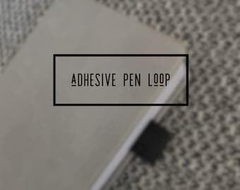 Adhesive Pen Loop (purchase with order)