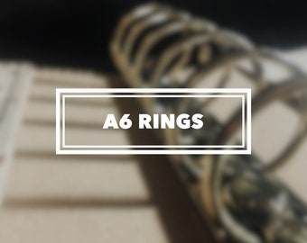 A6 Ring Binder Keelindori Cover
