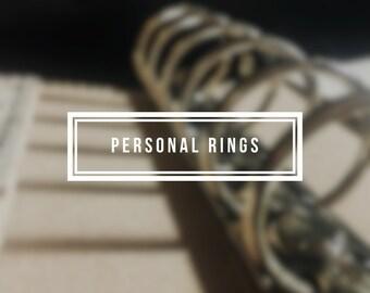 Personal Ring Binder Keelindori Cover