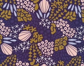 Rain Walk - Underwater - Reef- quilting cotton fabric