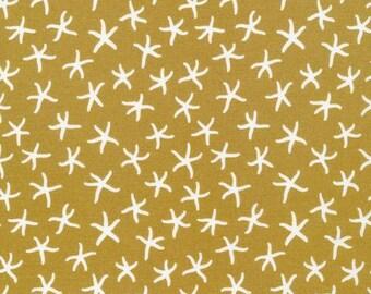 Rain Walk - Underwater - Starfish - quilting cotton fabric