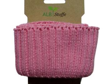 Cuff Me Cozy A03 Pink Scuro Organic Cuffs Albstes Hamburger Love Biobybag coarse knit bundle