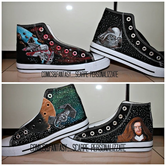 Star Wars converse shoes