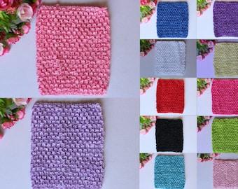 "Baby Girl Tube Top Crochet Stretchy Tutu Petti Skirt Bodice Dress DIY 6"" Free Postage"