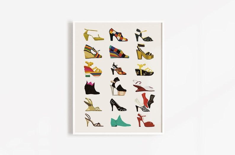 Salvatore Ferragamo  Fashion Illustration Print Fashion Print image 0