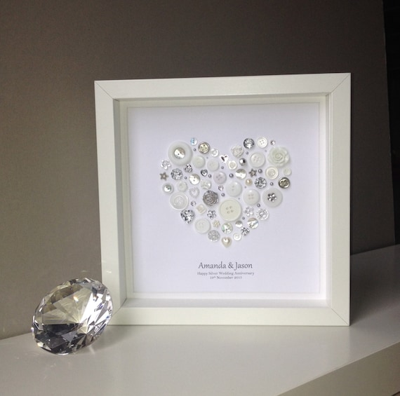 Gifts For Him For 25th Wedding Anniversary: 25th Anniversary Gift Silver Wedding Anniversary Gift
