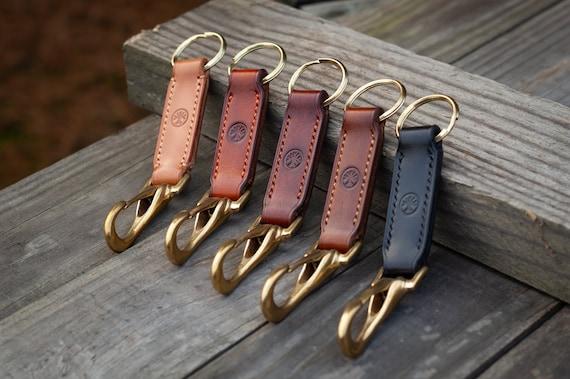 Custom Leather Key Fob