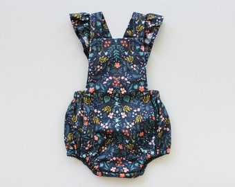 Overall Playsuit PDF Sewing Pattern
