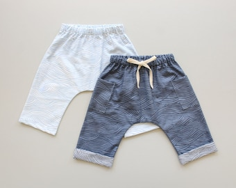 Easy Woven Harem Pants PDF Sewing Pattern